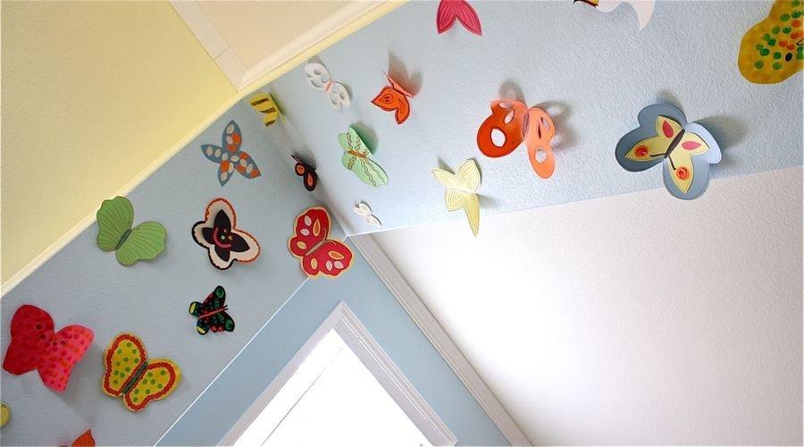 Идея для декора детской комнаты