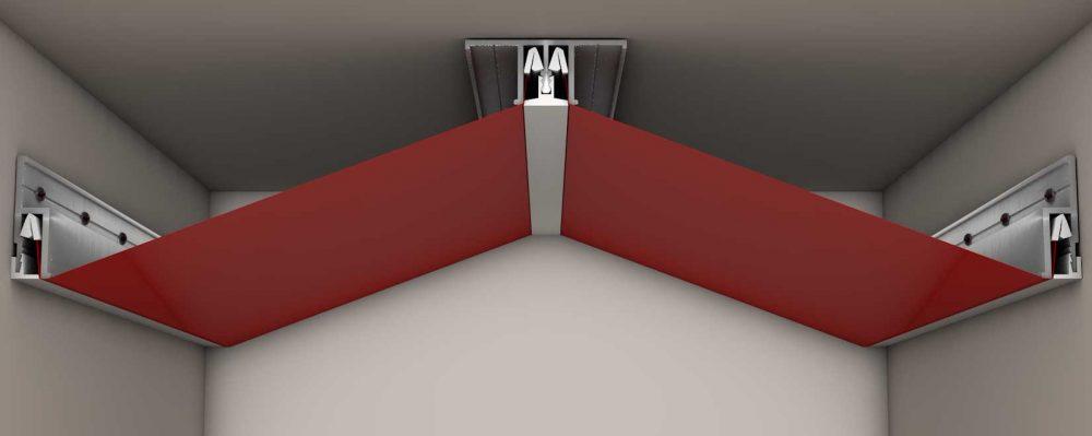 идея использования гарпунной системы крепления натяжных потолков в ремонте квартиры