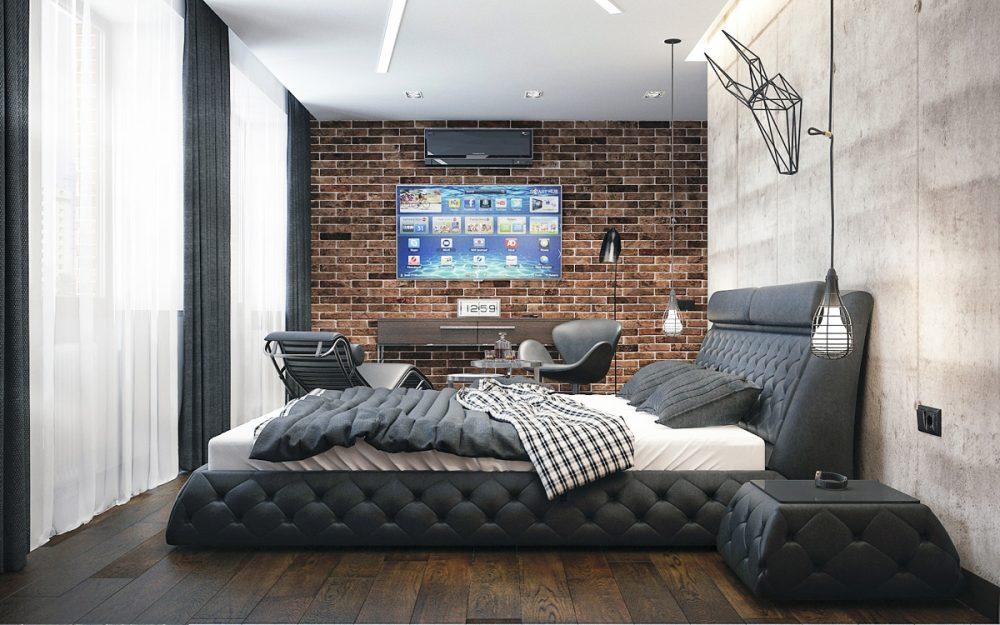 Маленькая спальня 2017