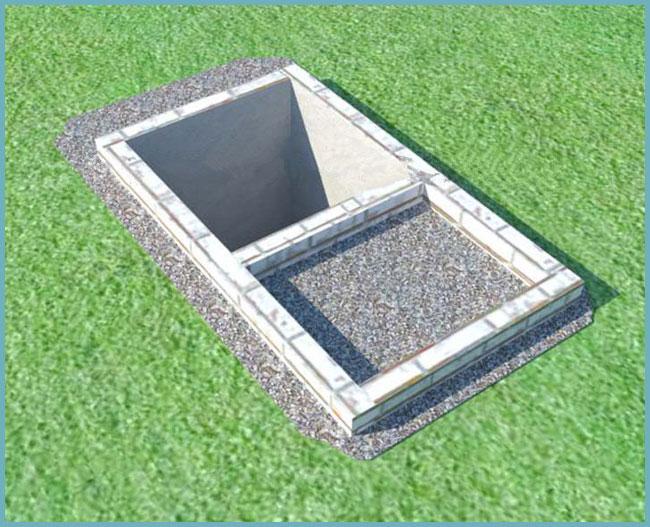 как устроить выгребную яму для туалета