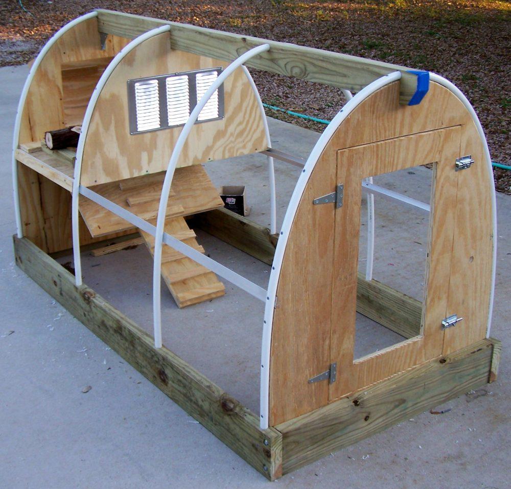 схема дачного детского домика на даче