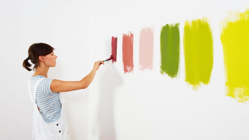 краска для кухни, выбор цвета