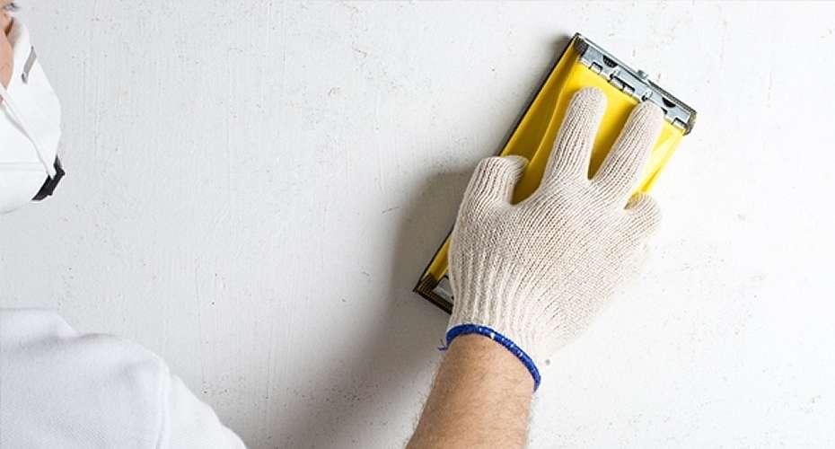 готовим поверхность стены под покраску