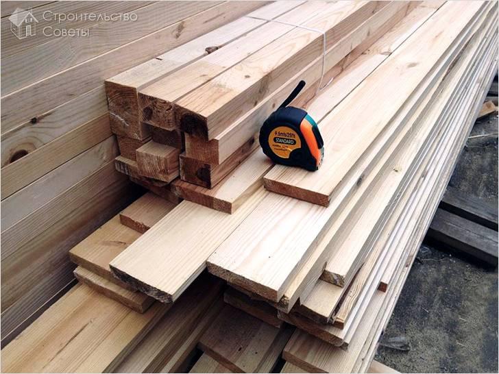 Критерии выбора древесины