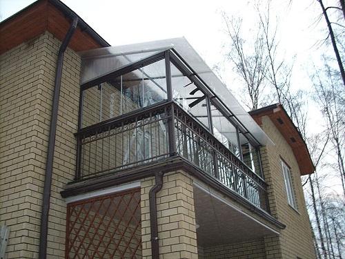 Утепление крыши балкона на последнем этаже