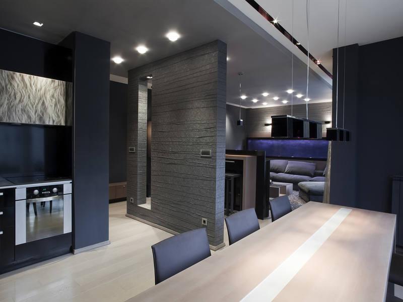 Квартира-студия в стиле «Хай-тек»