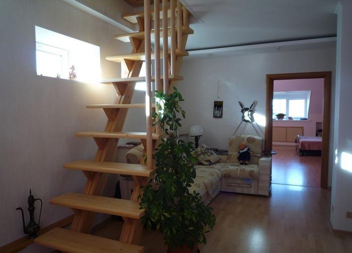 лестнича на жилой чердак