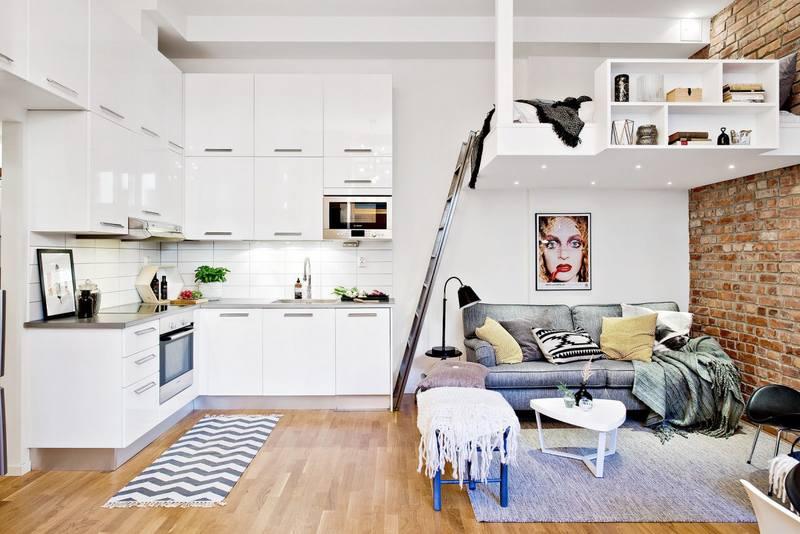 Маленькая студия квартира