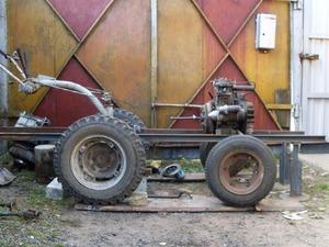 Минитрактор на базе мотоблока