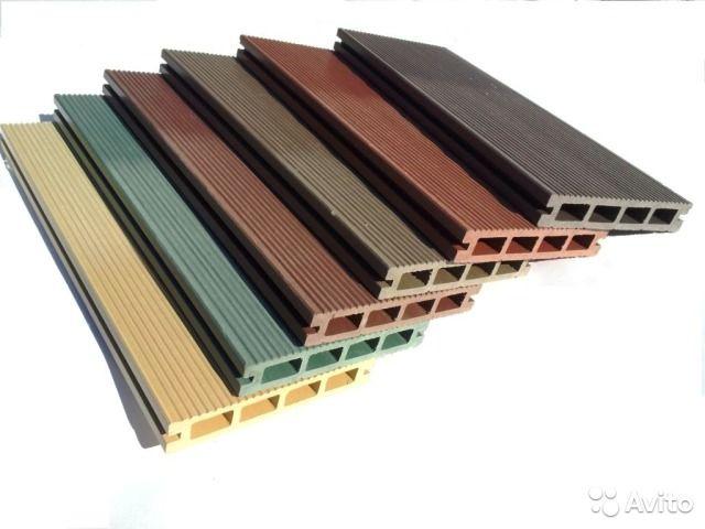 Многообразие цветовой палитры изделий из ДПК