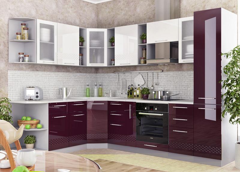К примеру, такой внешний вид может быть у более чем 30 различных расцветок кухонных гарнитуров