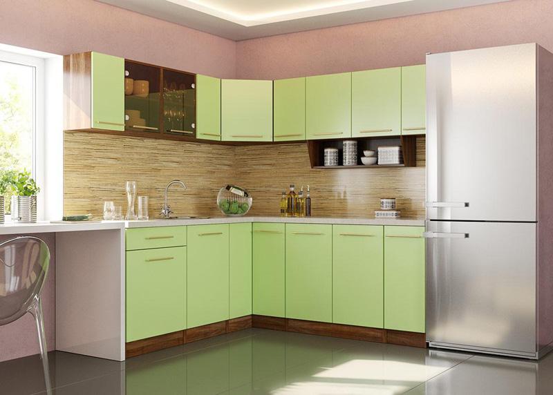 Это и есть модульная кухня «Арина» производства фабрики «Фран»