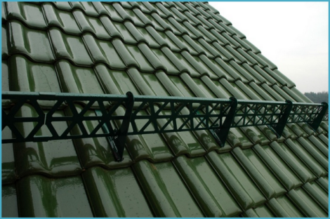 монтаж уголковых снегозадержателей на металлочерепицу инструкция