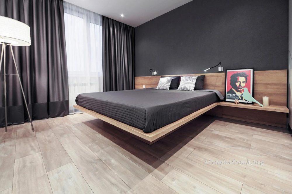 оформление интерьера маленькой спальни