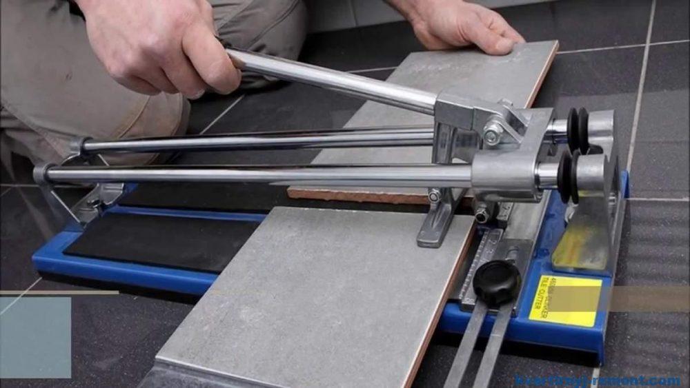 Разрезаем плитку