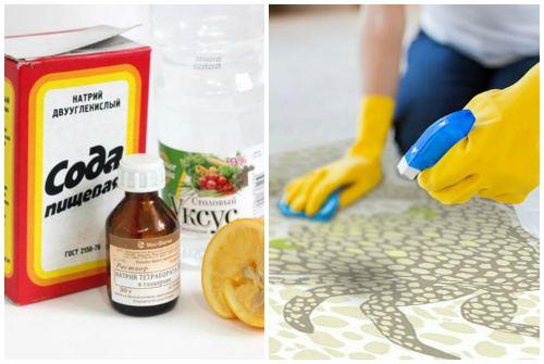 очищение содой
