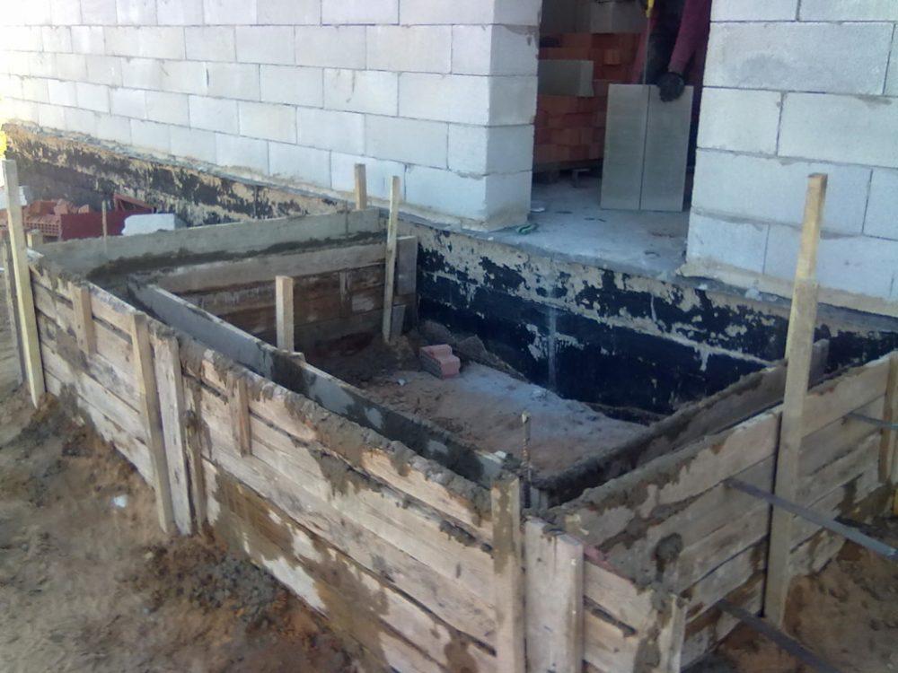 каркас для бетона