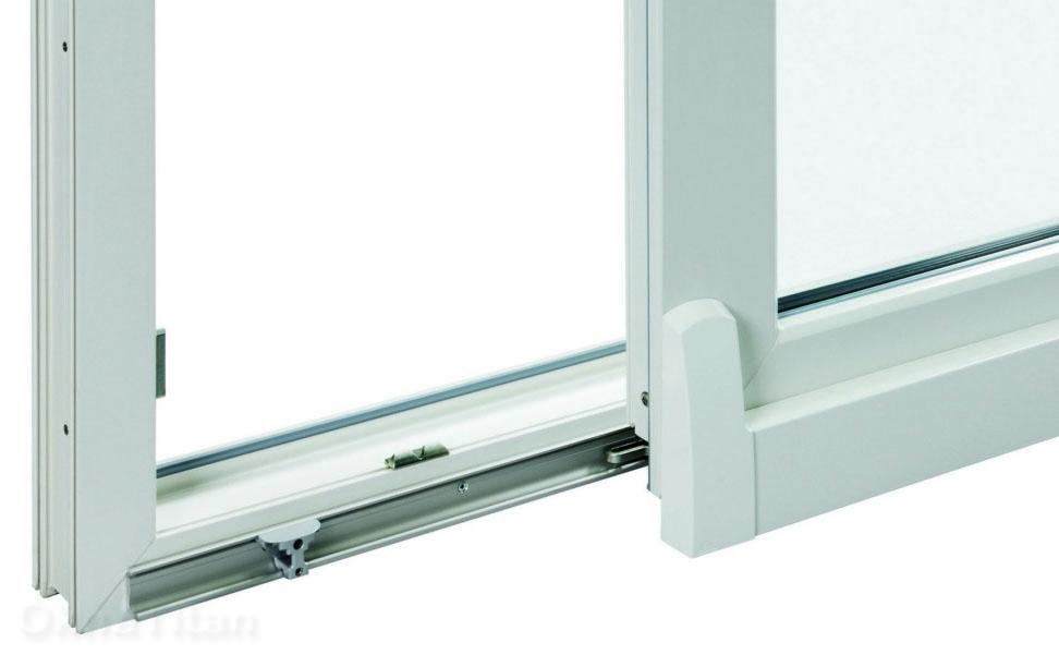 Наклонно-сдвижной механизм балконного окна