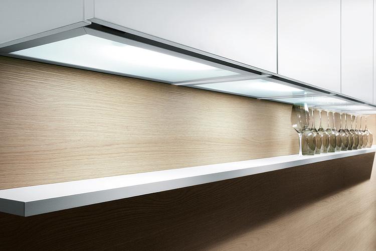 Идеальная подсветка, выполненная LED-панелями