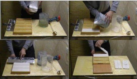 Гипсовая плитка под камень для внутренней отделки: фото, видео
