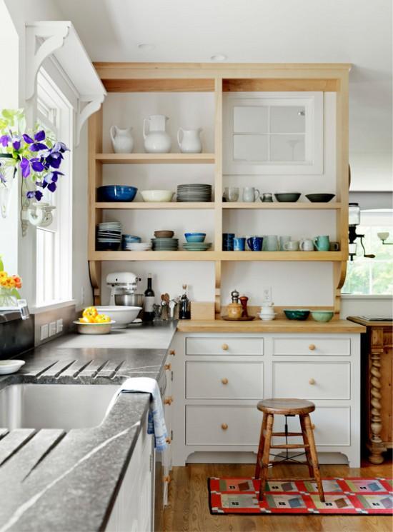 Полки для хранения посуды