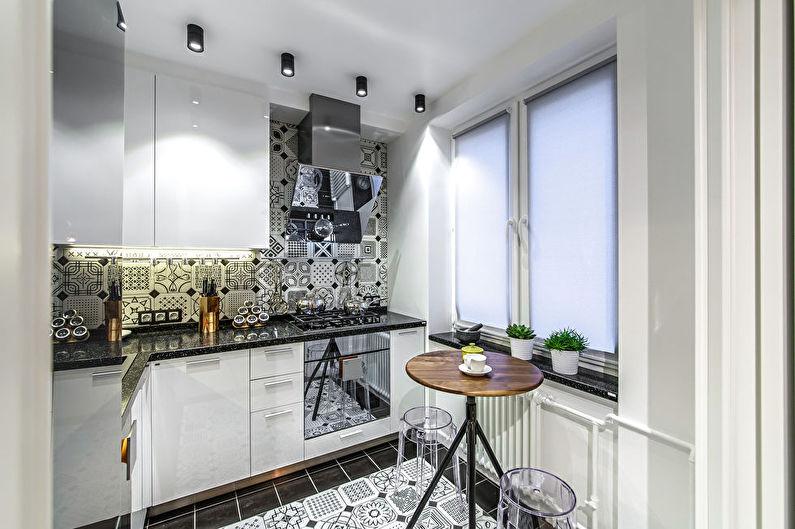 Дизайн кухни в хрущевке - современный стиль интерьера
