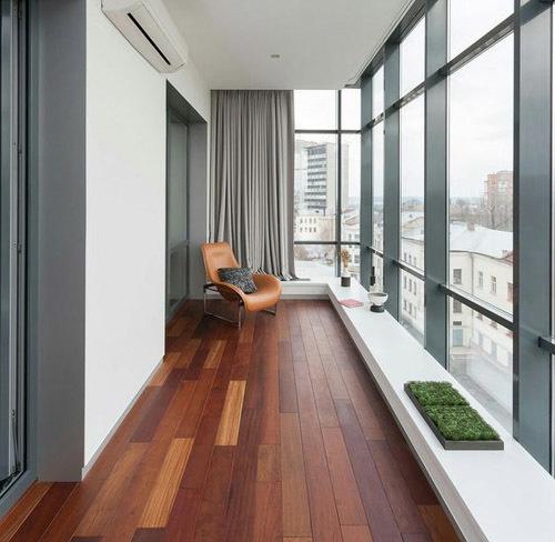 материалы для обшивки балкона и лоджии