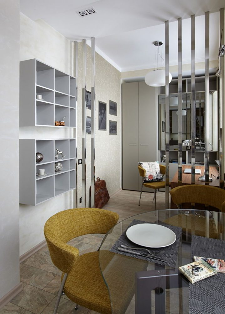 Интерьер маленькой квартиры в современном стиле
