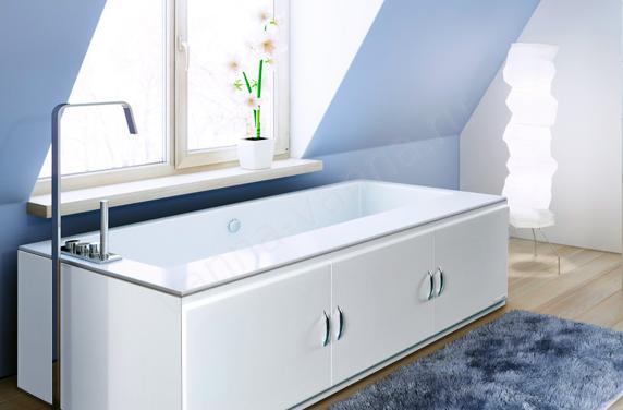 Распашной экран под ванну