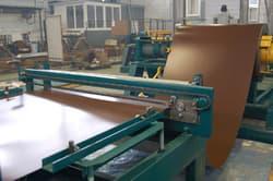 размотка рулона листового металла