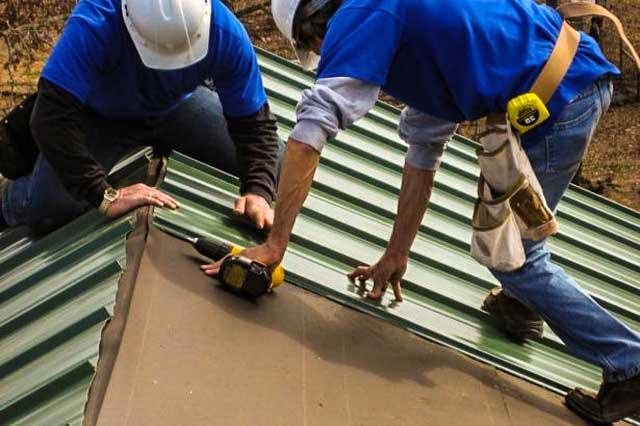 капитальный ремонт крыши гаража