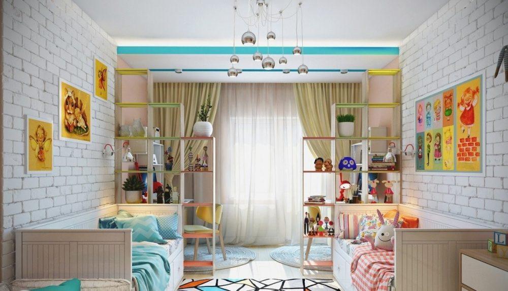 Спальня для мальчика и девочки