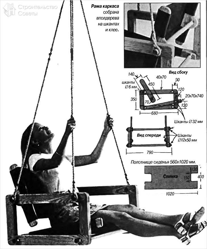 Сборка сиденья