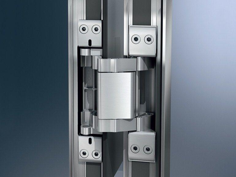 Скрытые дверные петли для металлических дверей: открывание на 180 градусов