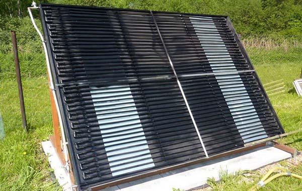 солнечный коллектор своими руками фото
