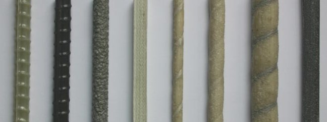 Поверхность стеклопластиковой арматуры может быть рифленой, гладкой или с посыпкой