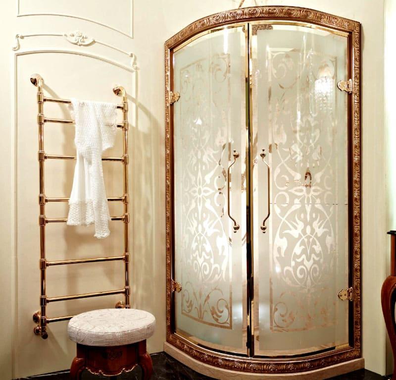 Можно подобрать двери к любому оформлению ванной комнаты