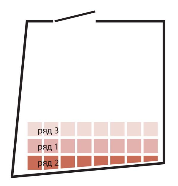 Схема укладки рядов плитки