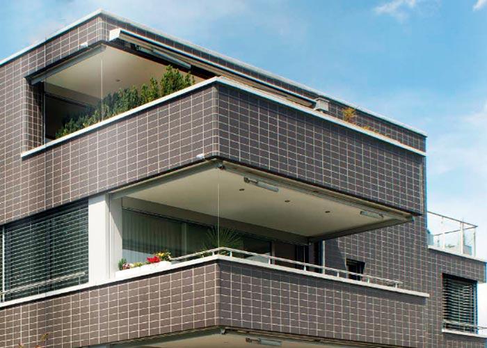Вентилируемый фасад из терракотовых панелей