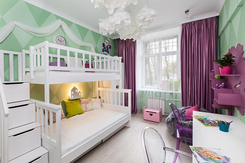 Обои для детской комнаты (70 фото)