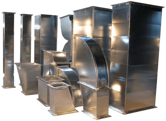 Вентканалы из металла