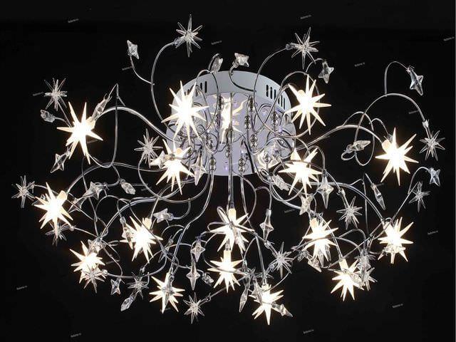 стильный осветительный прибор для натяжного потолка