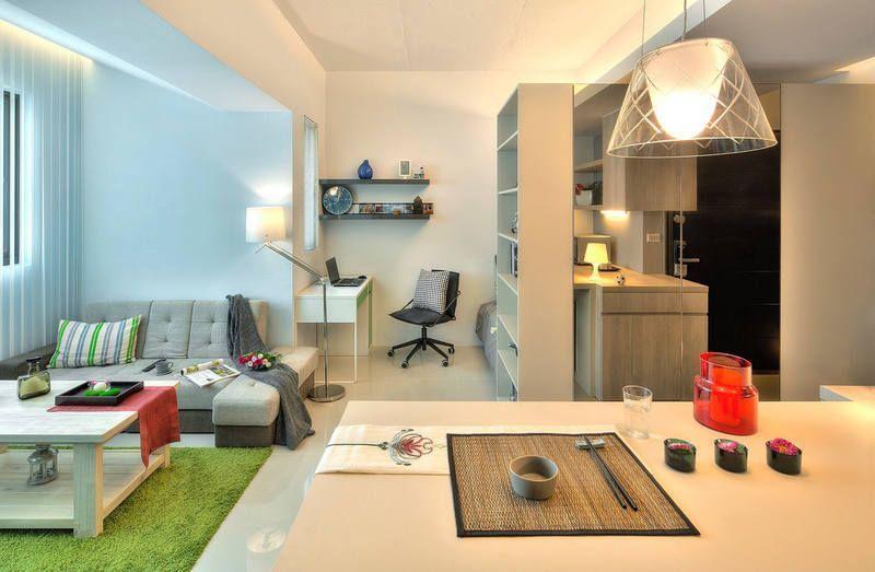 Уютная квартира-студия небольшой площади