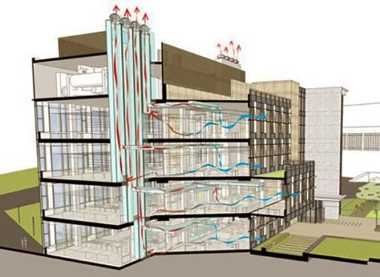 система вентиляции в многоэтажном доме