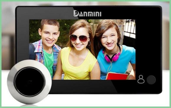 Видео глазок Danmini