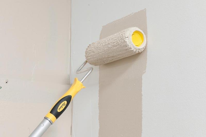 виды валиков для покраски стен водоэмульсионной краской