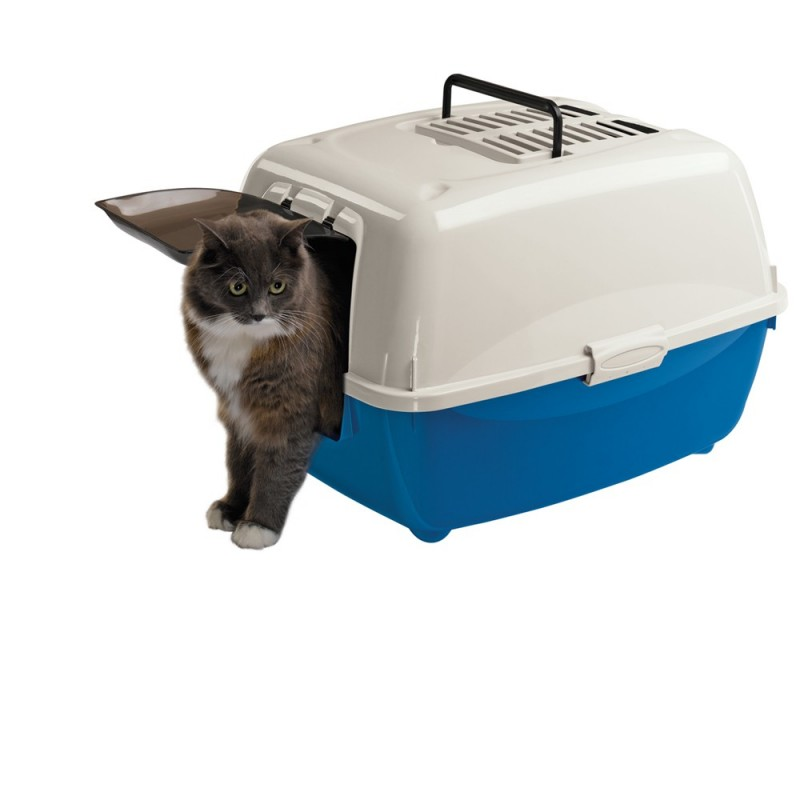Закрытый туалет для кошки