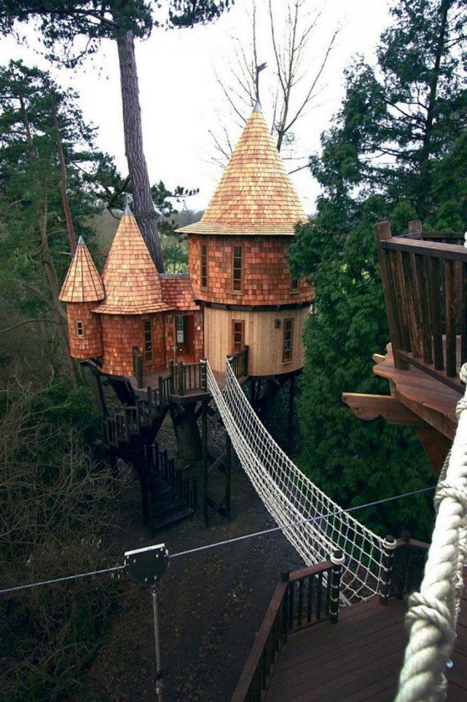 Замок на дереве