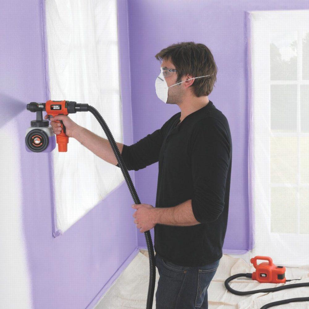 защита при покраске стен