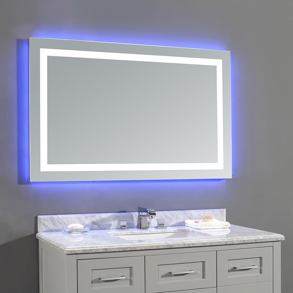 Белое и неоновое освещение